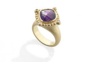 Rokoko Ring large with Amethyst