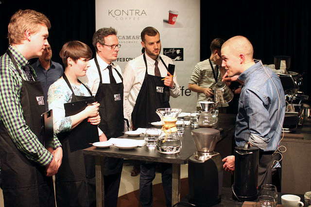 Barista 2013 - Rasmus / Coffee Collective at Torvehallerne