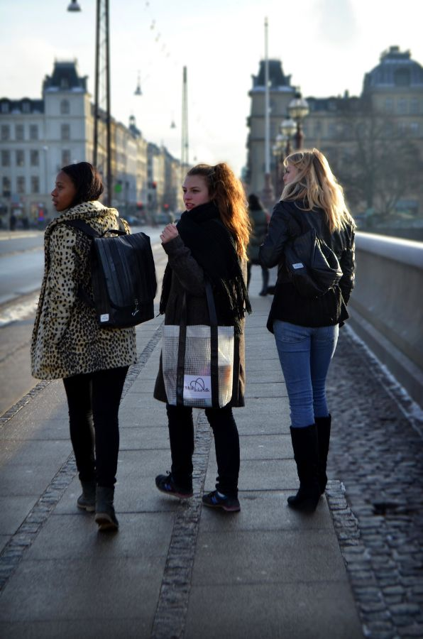 Multitaske – stylish, recycled bags from Copenhagen