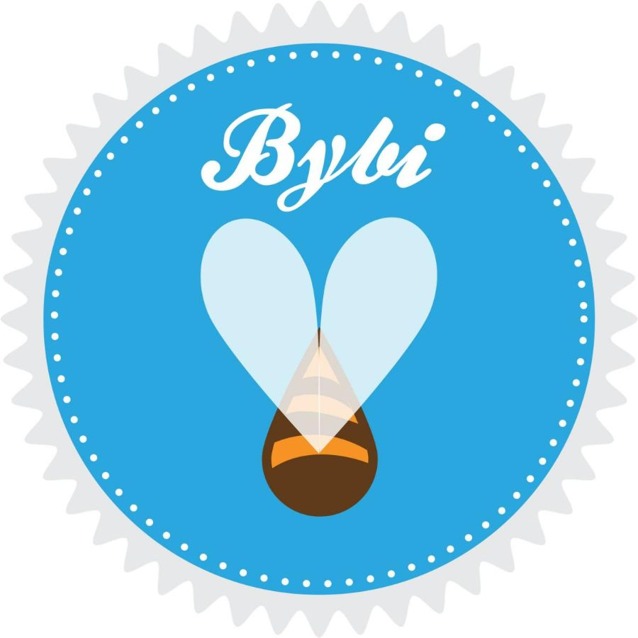 bybi bees copenhagen, locally produced honey