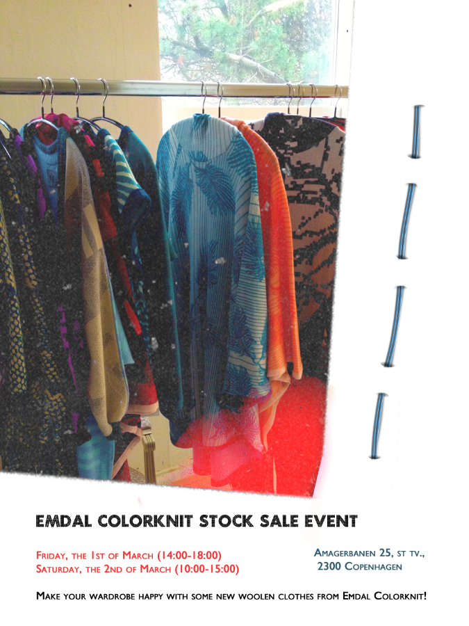 Emdal Colorknit Stock Sale Woolen Clothes Event
