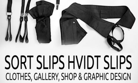 Sort Slips Hvidt Slips are opening a new store!