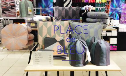 Place de Bleu POP-UP shop in Magasin