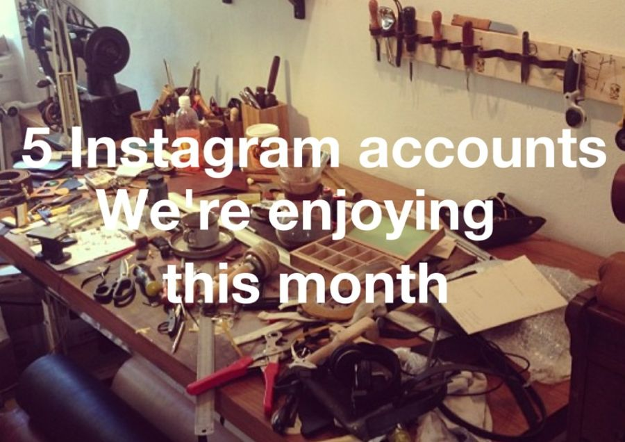 5 Instagram accounts we're enjoying this month