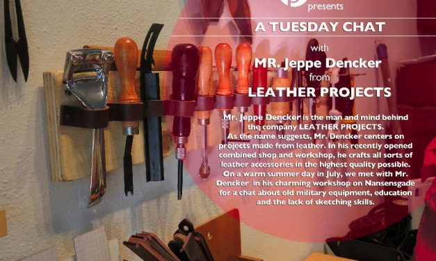 Interview with Jeppe Dencker from Leather Projects