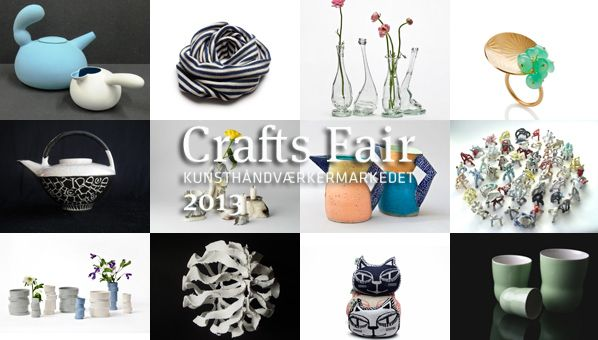 The CPHmade guide to Crafts Fair Copenhagen 2013