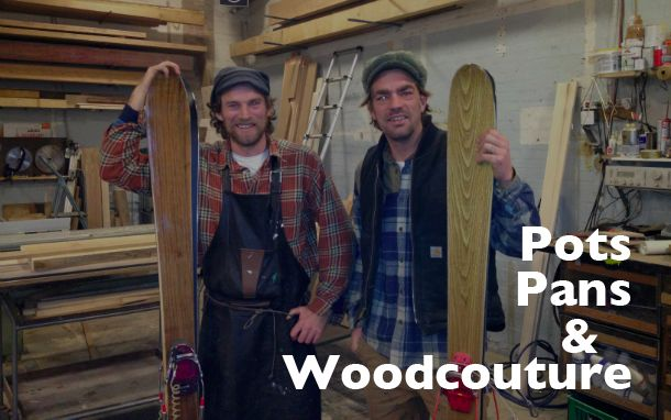 Pots, pans and Woodcouture