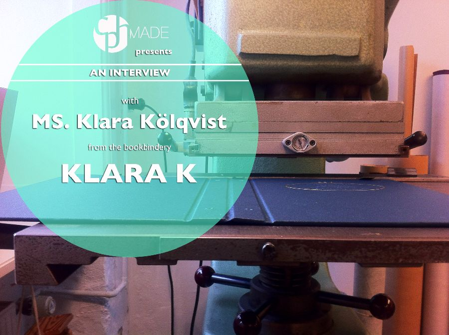 Interview with Bookbinder Klara*K