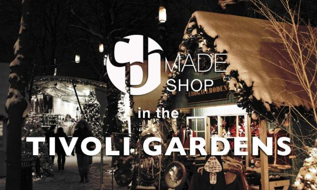 CPHmade SHOP in the Tivoli Gardens