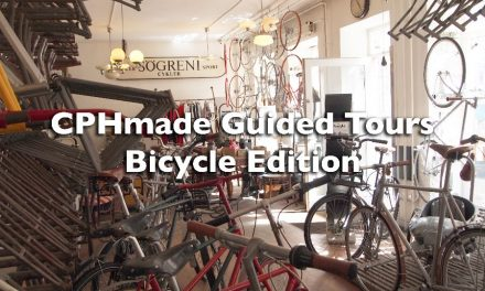 Get ready for CPHmade Guided Tours – now on bicycle!