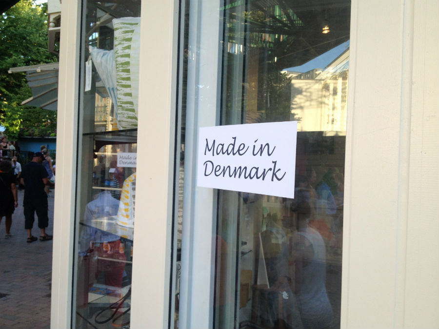 made in Denmark shop