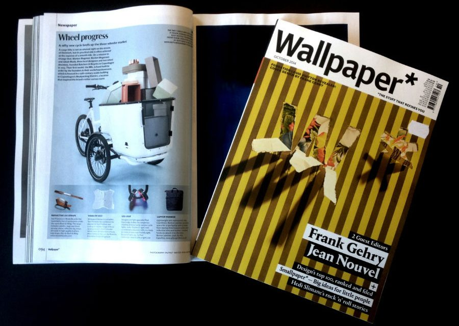 Butchers & Bicycles' cargo bike featured in Wallpaper