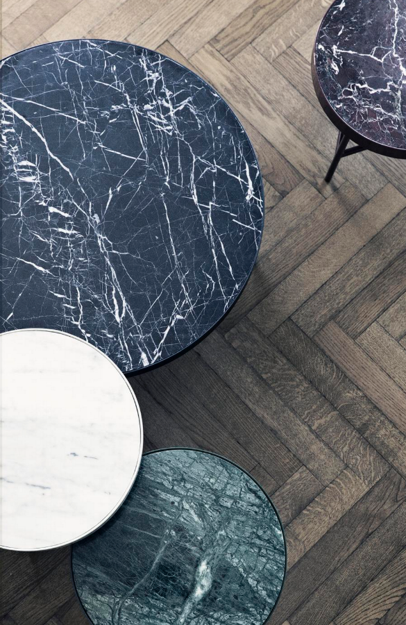 mordern nordic home marble