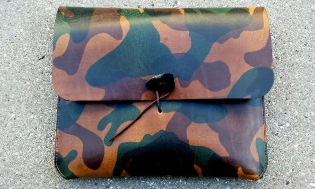 Limited Edition iPad Cover from Leather Projects