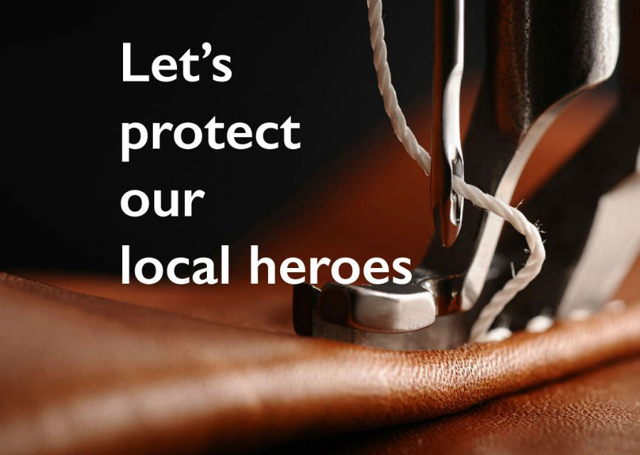Help us protect our local heroes