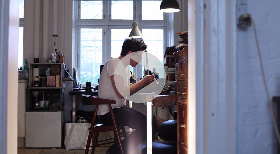 Meet a craftsman: Jeppe Dencker from Leather Projects