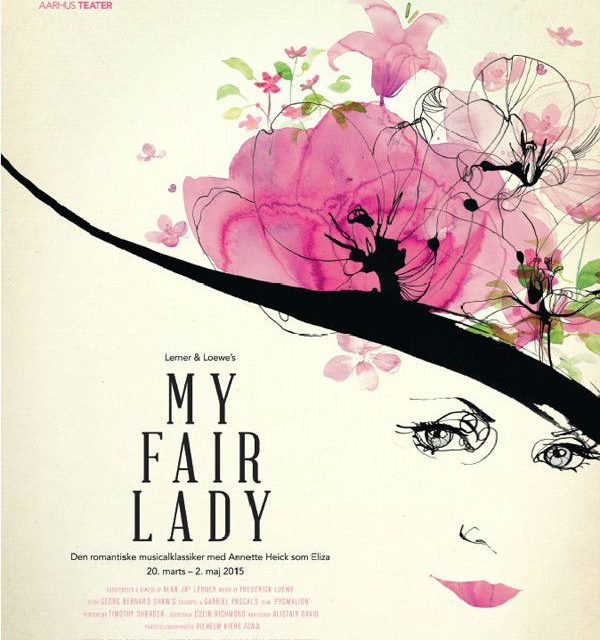 My Fair Lady talented presented by Toril Baekmark
